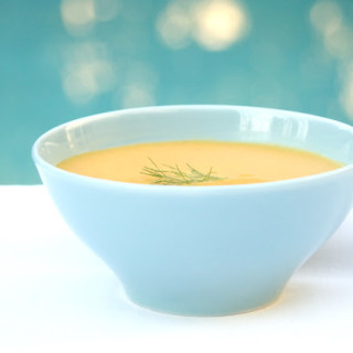 Cream of Carrot, Fennel, and Orange Soup