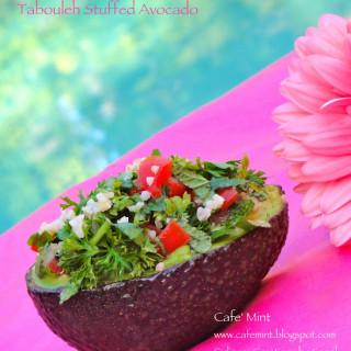 Tabouleh Stuffed Avocado
