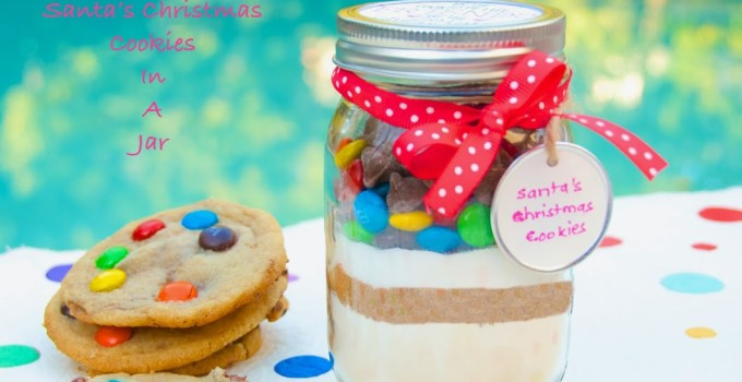 Bake It Yourself: Santa's Christmas Cookies In A Jar