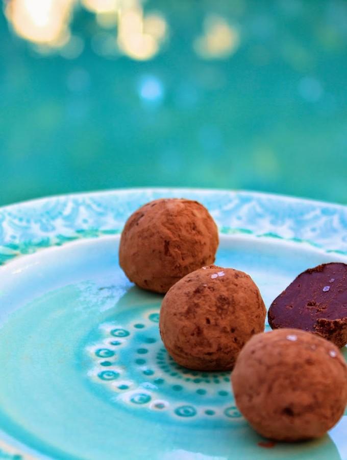 Nutella Sea Salt Truffles