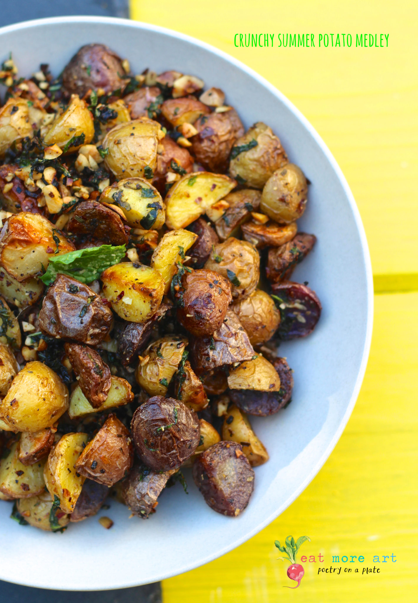 Crunchy Summer Potato Medley IMG_9336