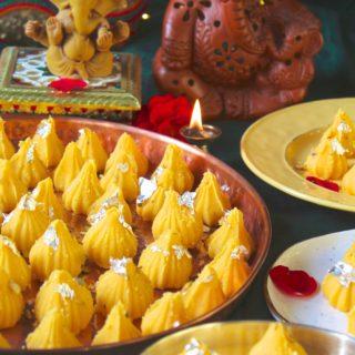 Kesar Peda Modak   Happy Ganesh Chaturthi
