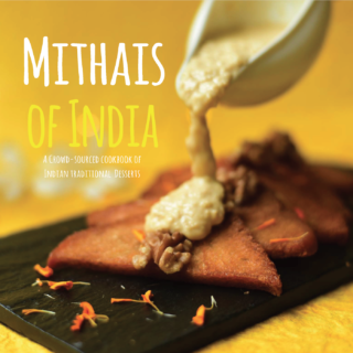 'Mithais of India' launched   India's first crowd-sourced Mithai e-book