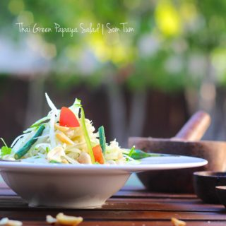 Thai Green Papaya Salad   Som Tum