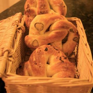 Soft Pretzels with Jalapeño and Garlic