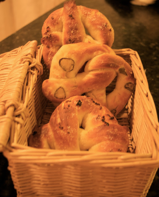 Home Baked Soft Pretzels with Jalapeño and Garlic Recipe | Eat More Art