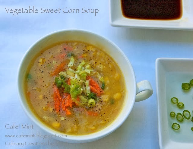 Vegetable Sweet Corn Soup and Nostalgia Revisited | Eat More Art