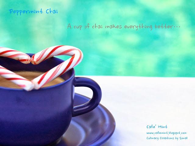 Peppermint Chai