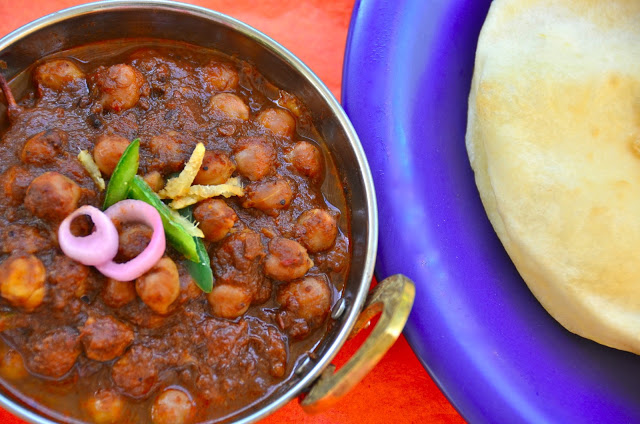 Punjabi Chhole - Bhature | Eat More Art