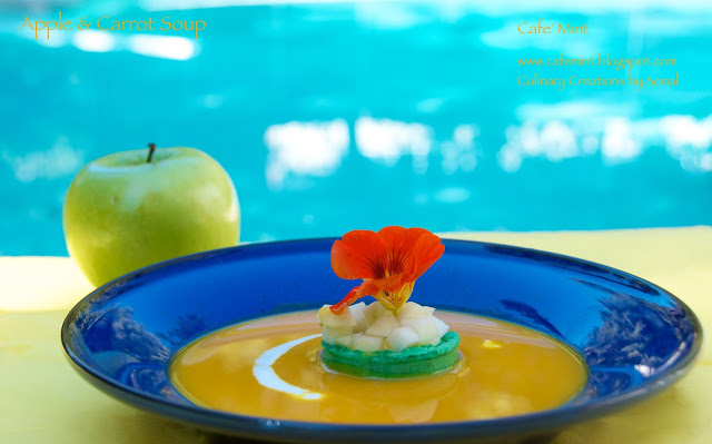 Apple & Carrot Soup | Eat More Art