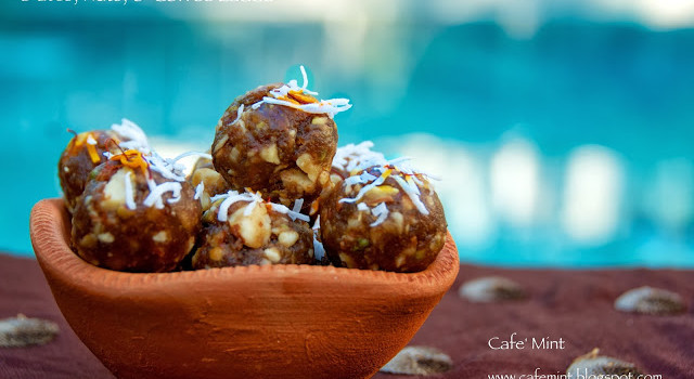 Dates, Nuts, & Coffee Laddu