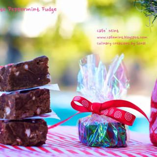 Chocolate Peppermint Fudge 2.0