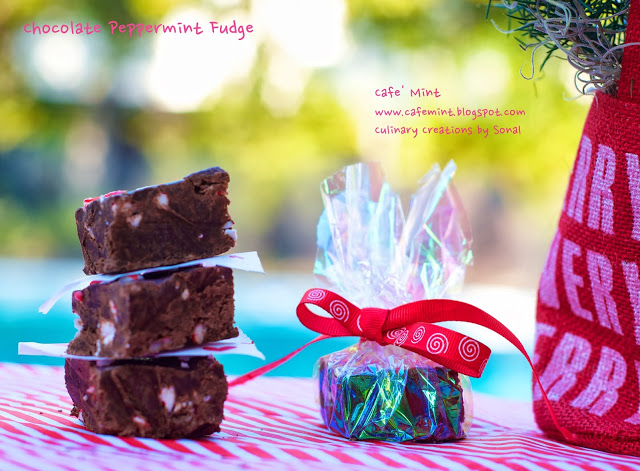 Chocolate Peppermint Fudge 2.0 | Eat More Art