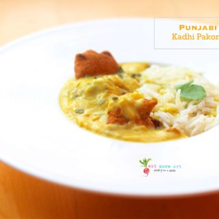 Authentic Punjabi Kadhi Pakora