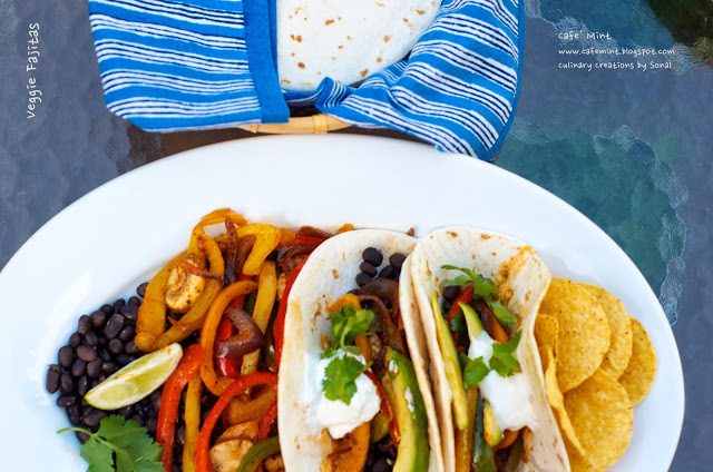 Veggie Fajitas | Eat More Art