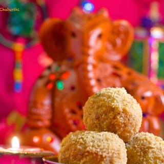 Happy Ganesh Chaturthi | Churma Laddu