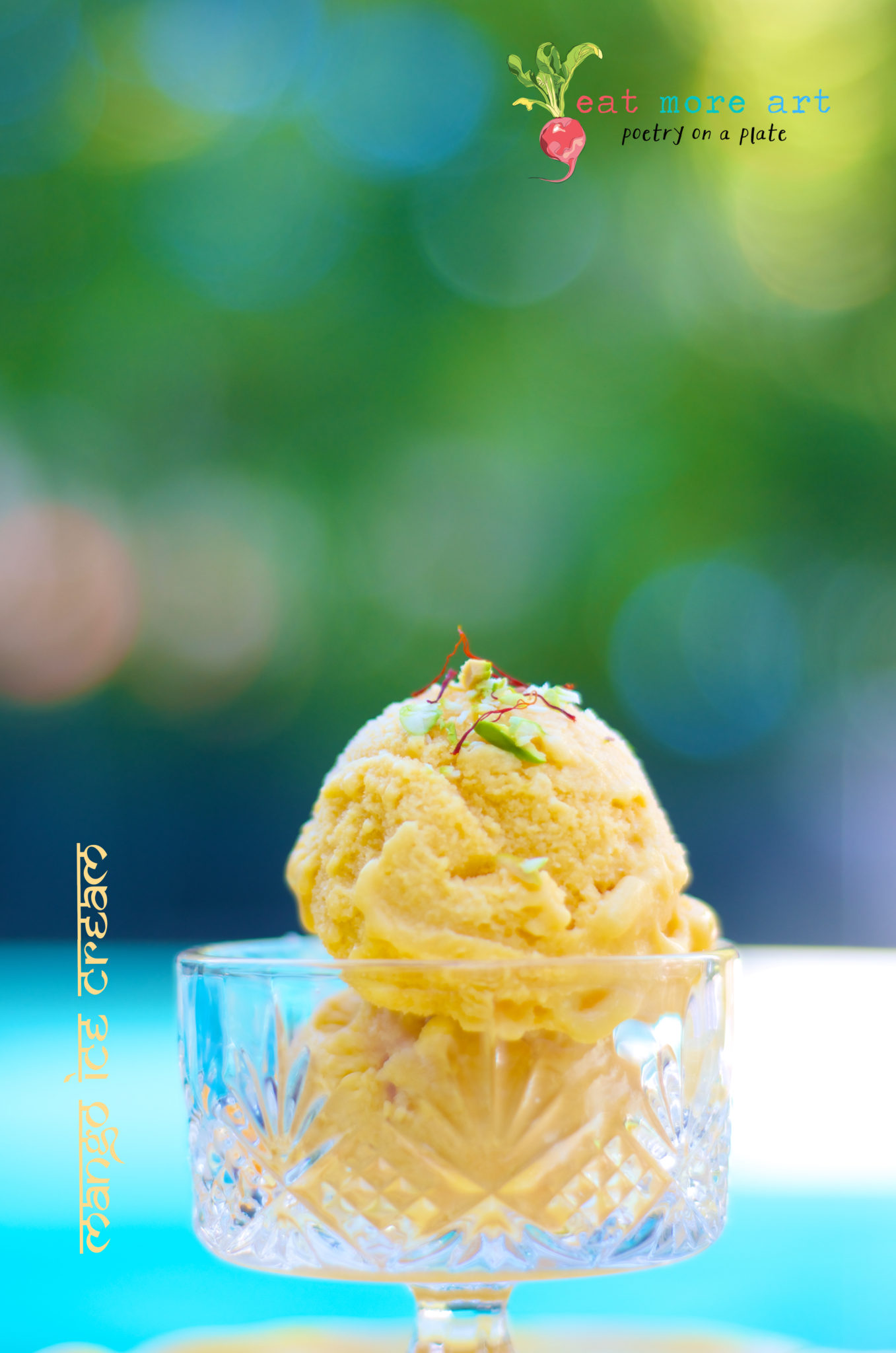 Mango Ice Cream 4 - Eat More Art - Logo