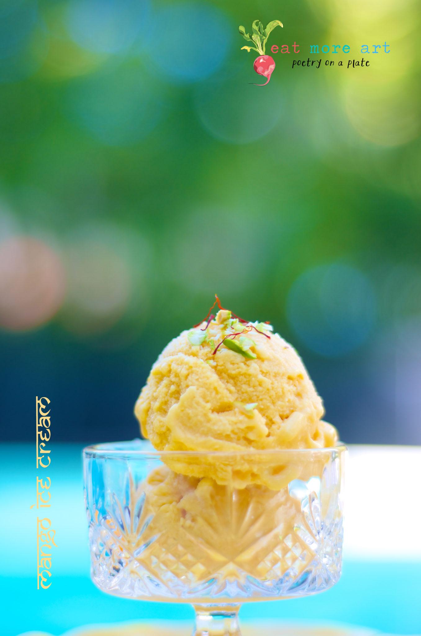 Mango Ice Cream 4 - Eat More Art - Logo