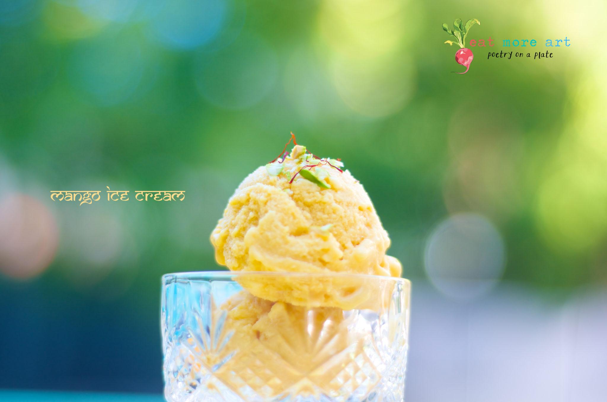 Mango Ice Cream 5 - Eat More Art - Logo