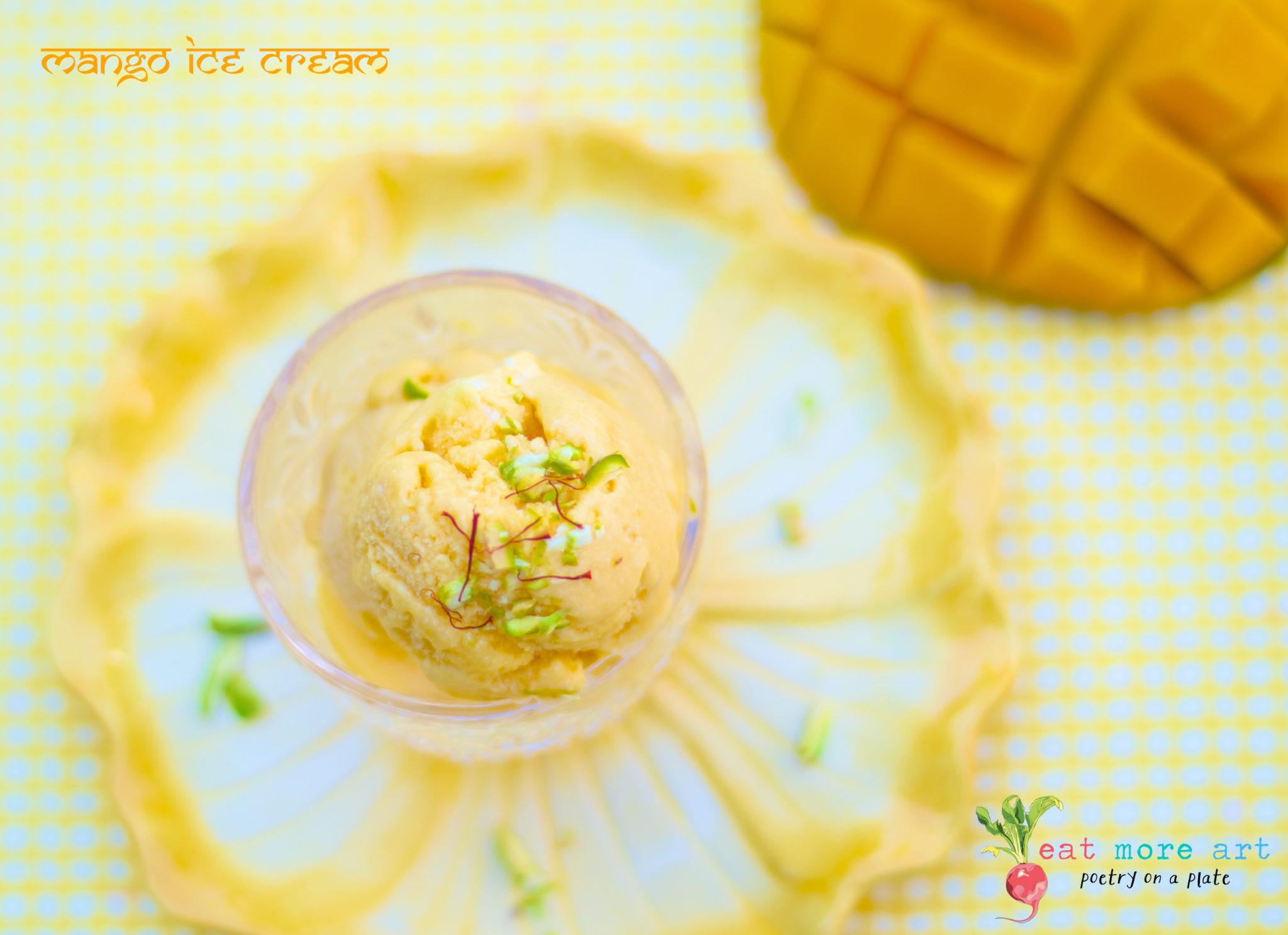 Mango Ice Cream 7 - Eat More Art - Logo