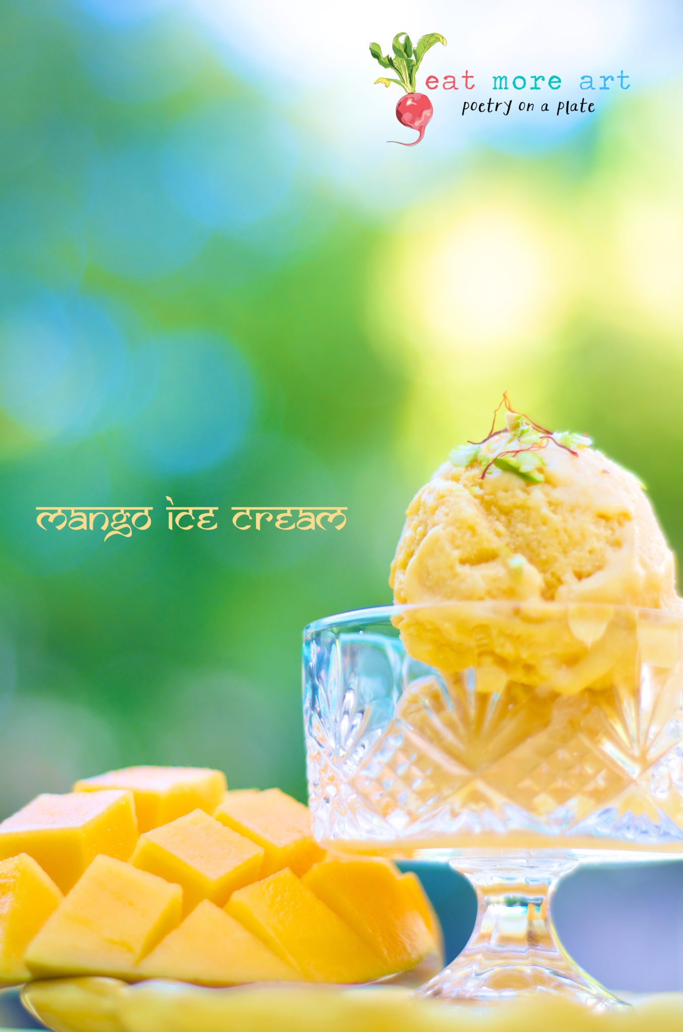 Mango Ice Cream - Eat More Art - Logo