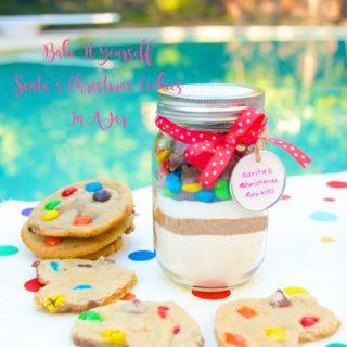Bake It Yourself: Santa's Christmas Cookies In A Jar