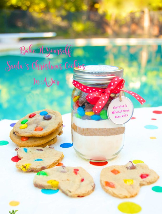 Santa's Bake It Yourself Cookies In a Jar - blog Cookies In A Jar