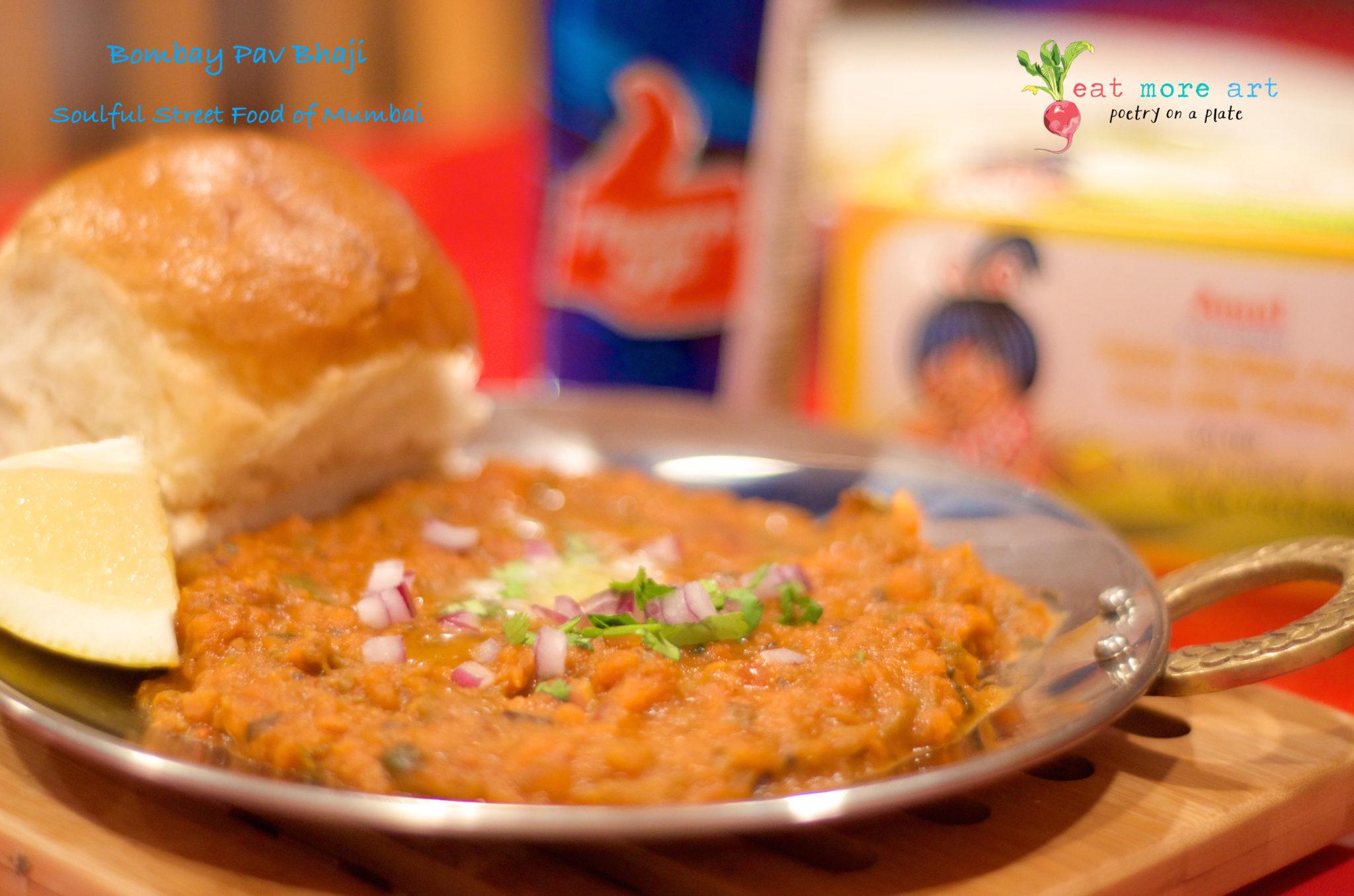 Bombay Pav Bhaji | Soulful Streetfood of Mumbai