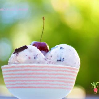 Cherry Garcia Ice Cream | National Ice Cream Month