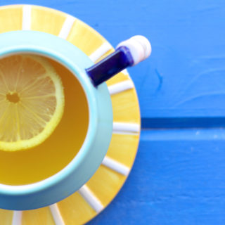Sunshine in a Cup | Turmeric Ginger Lemon Honey Tea