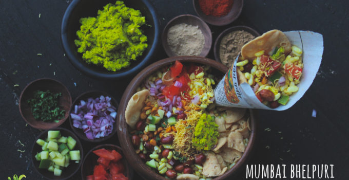 Mumbai Bhelpuri with Sukha Chutney | Street food of Mumbai