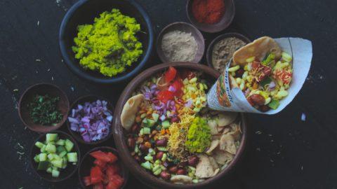 Mumbai Bhelpuri with Sukha Chutney   Street food of Mumbai
