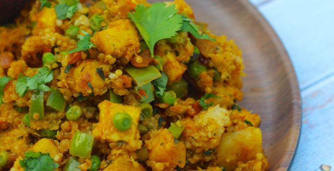 Quinoa Tawa Pulao | Mumbai Style Tawa Pulao With Quinoa