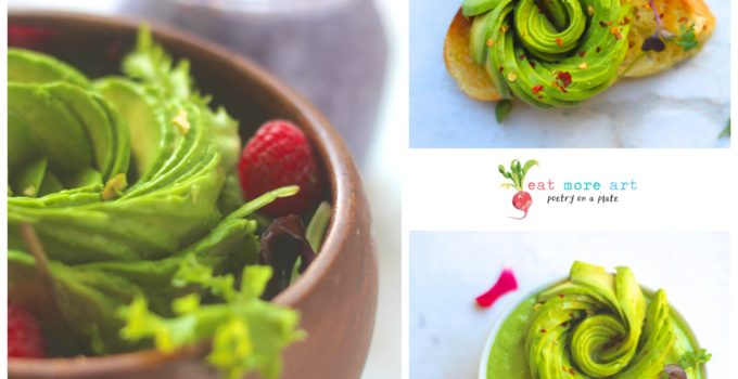 How to make an Avocado Rose