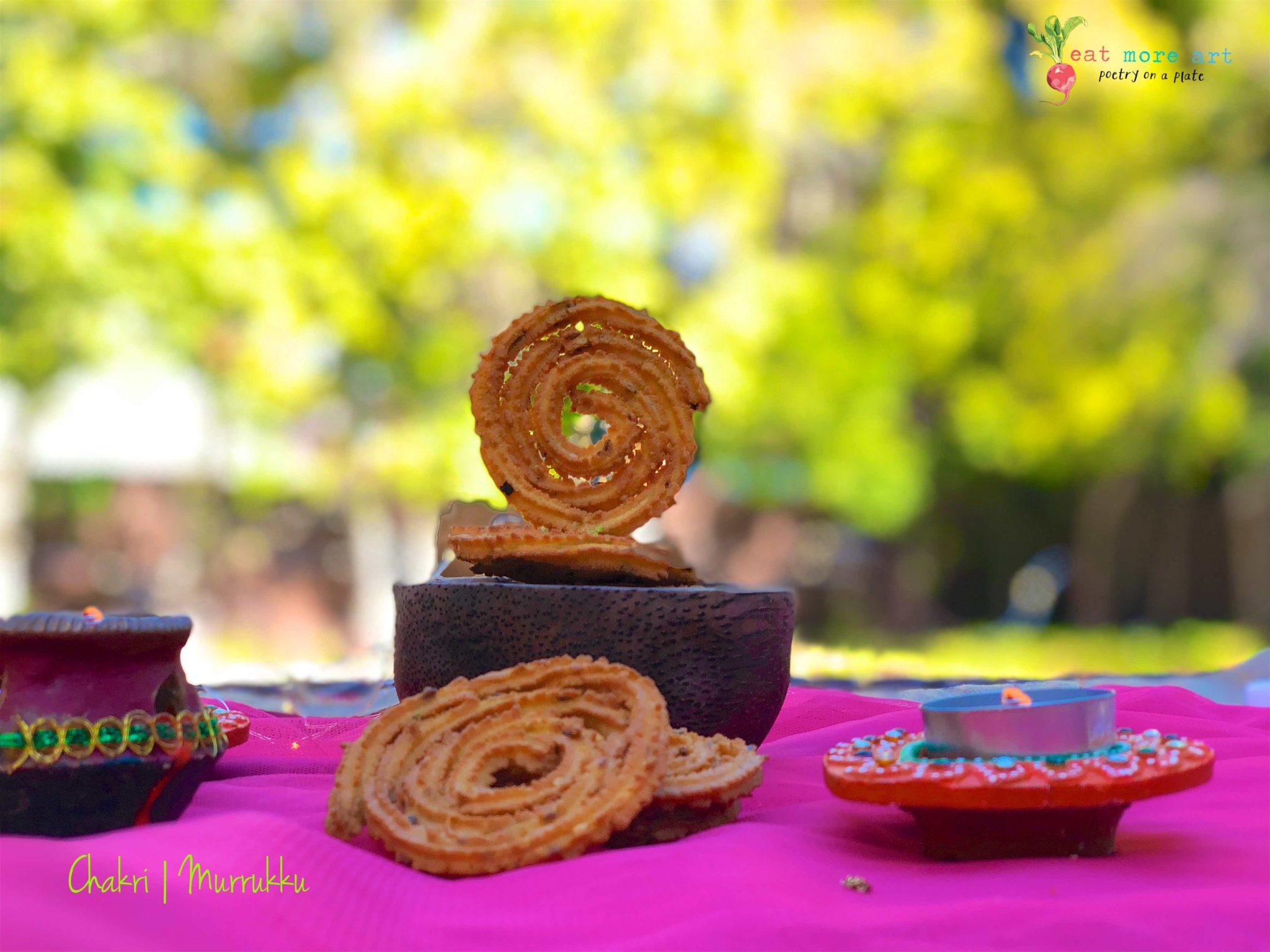 Chakri | Murukku | Eat More Art