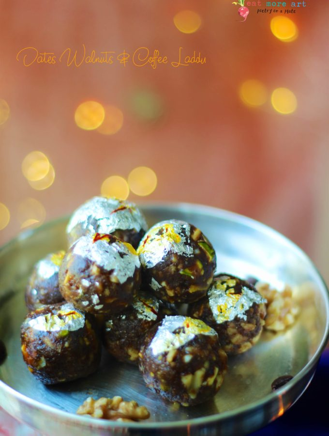 Dates Walnuts & Coffee Laddu
