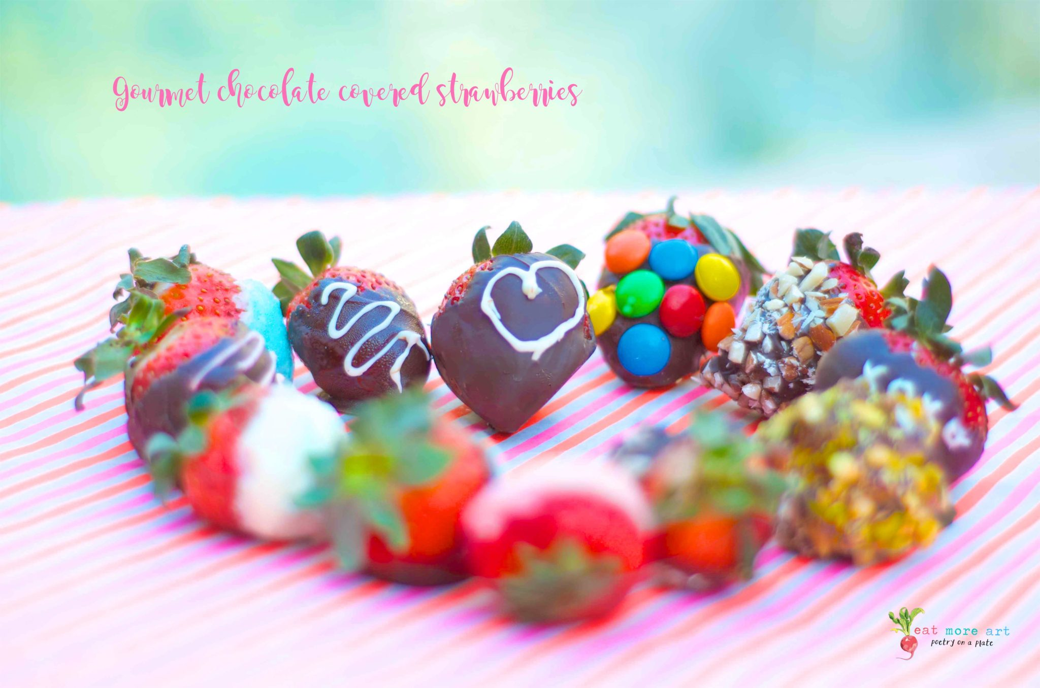 Gourmet Chocolate Covered Strawberries | Eat More Art