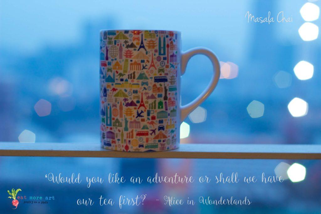 a cup of Indian masala chai   chai tea latte