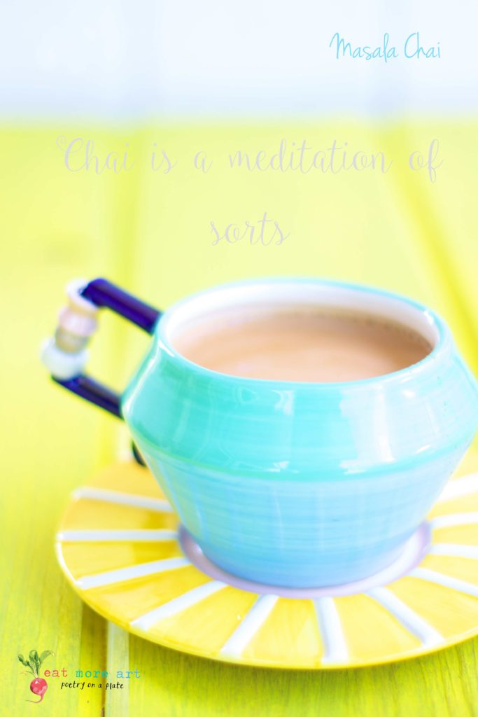 a cup of Indian masala chai | chai tea latte