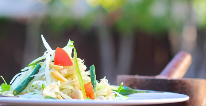 Thai Green Papaya Salad | Som Tum