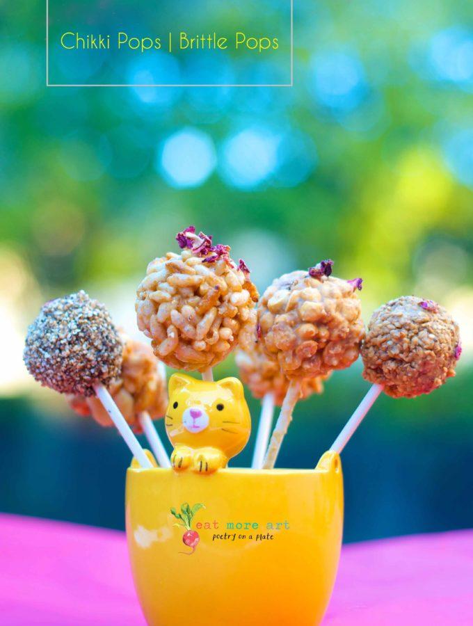 Chikki Pops | Brittle Pops
