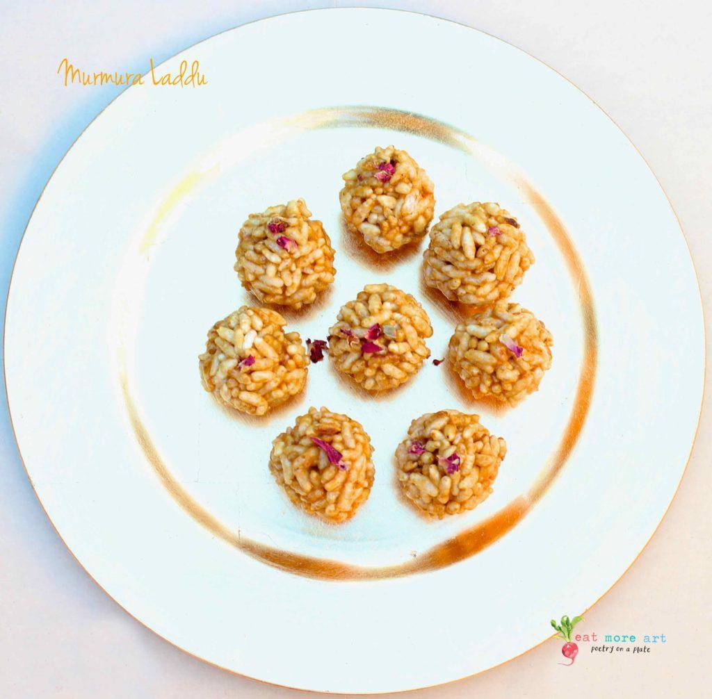 Murmura Laddu   Puffed Rice Balls