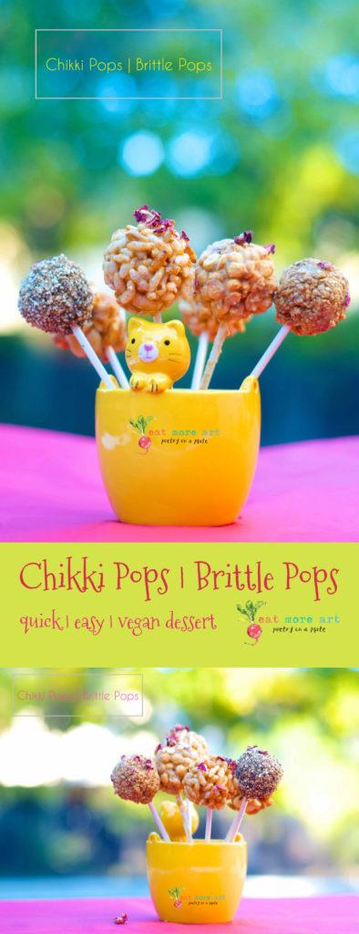 chikki pops   brittle pops