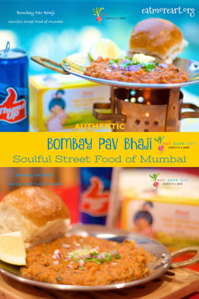 Authentic Bombay Pav Bhaji | The Soulful Street Food of Mumbai