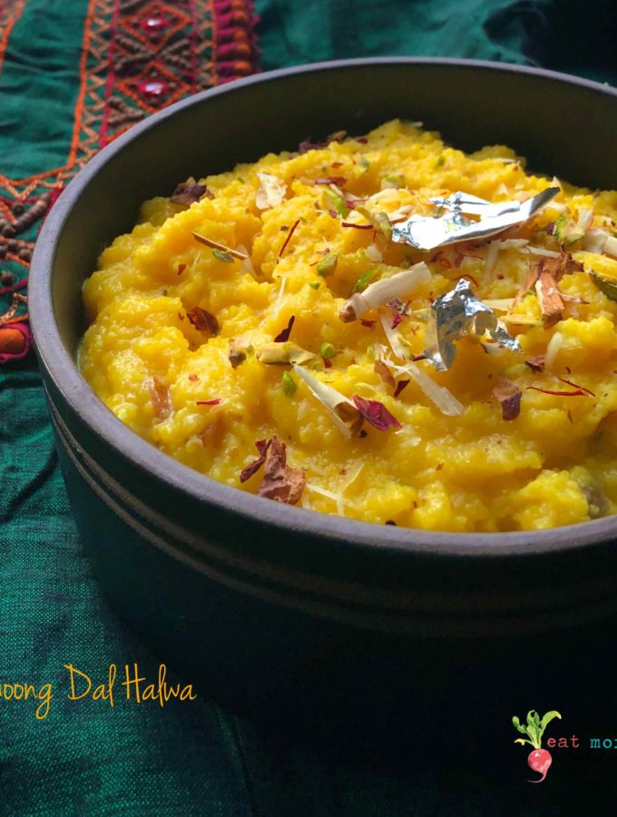 Authentic Moong Dal Halwa