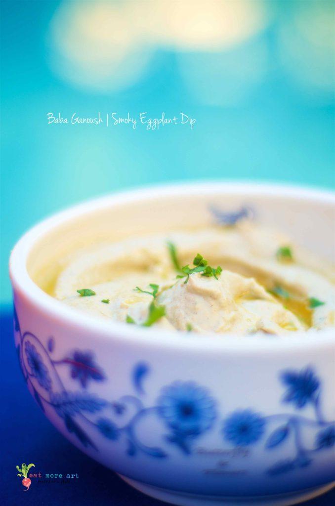 Baba Ganoush | Smoky Eggplant Dip