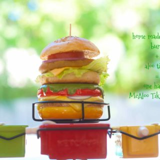 McAloo Tikki Burger | Veggie Burger