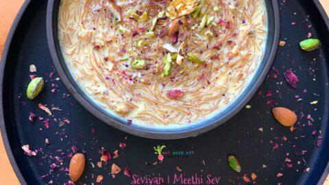 Meethi Sev | Seviyan | Vermicelli Pudding