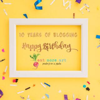 10 Years of Food Blogging
