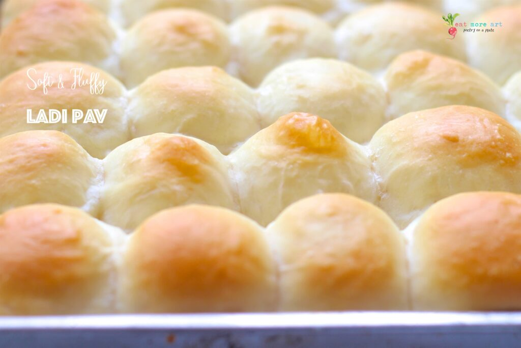 Ladi Pav | Soft, Eggless Dinner Rolls